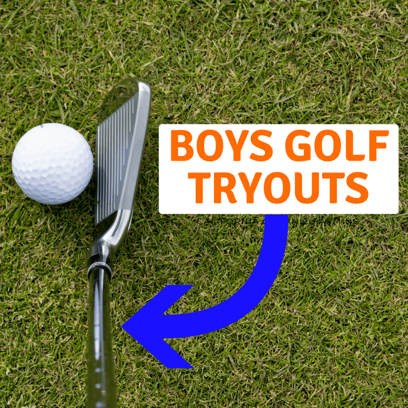 Boys Golf Tryouts on August 6th